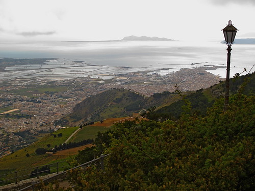 Trapani from Old Erice