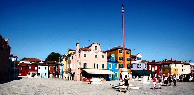 Square, Burano