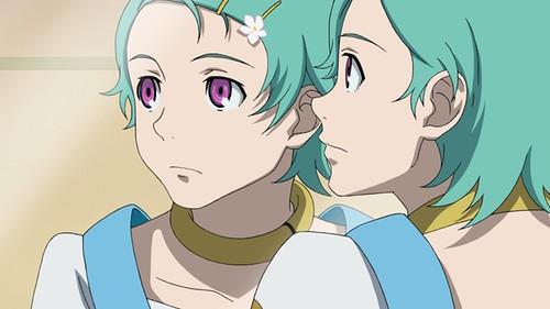 120622(1) - OVA《エウレカセブンAO ―ユングフラウの花々たち― (花樣少女們)》將於9/20發售!動畫系列《超時空要塞7》BD-BOX將分別發行上下合集!