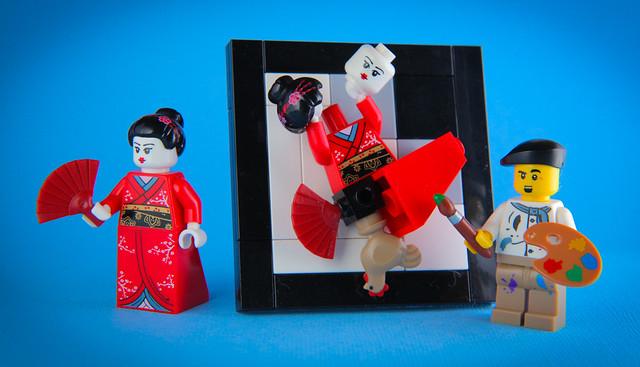 Picasso does Geisha