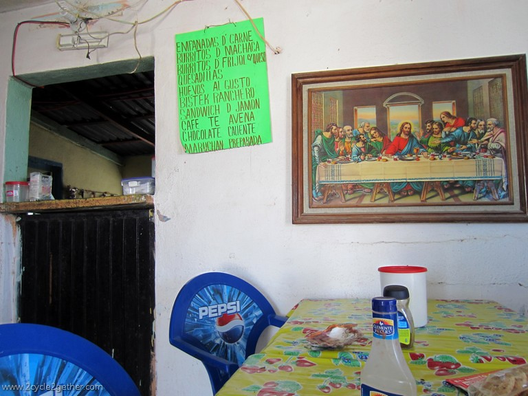 Restaurant south of Las Pocitas