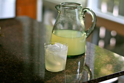 fresh-squeezed lemonade