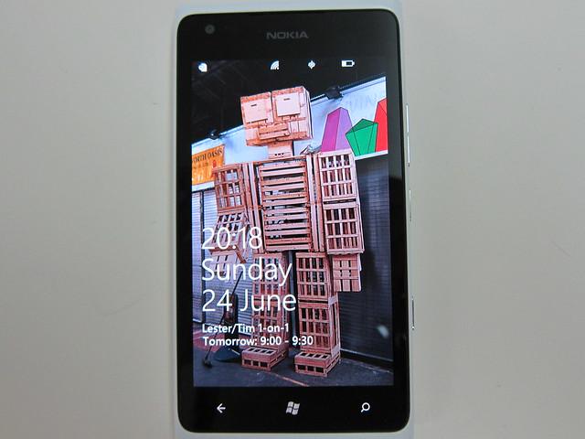 Nokia Lumia 900 - Front