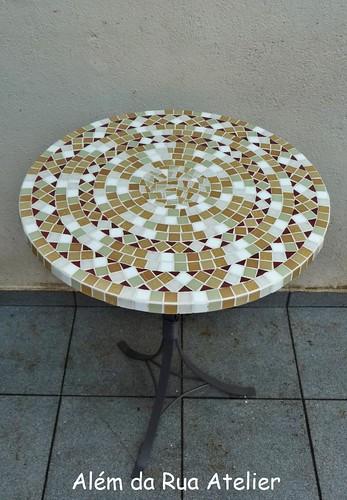 Mesa de mosaico