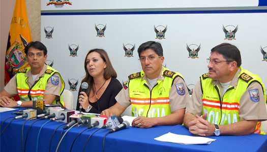 Polic a y armada concretan operativos contra el for Ministerio del interior en guayaquil