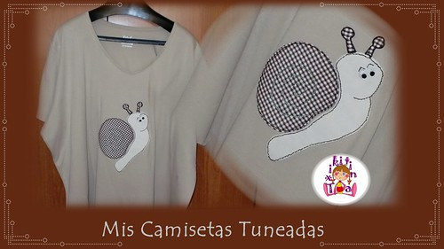 camiseta caracol by churri99