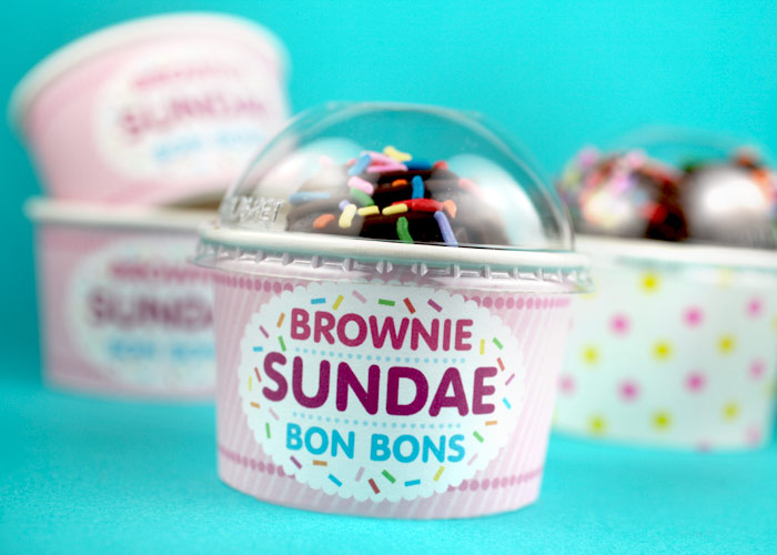 Brownie Sundae Bon Bons