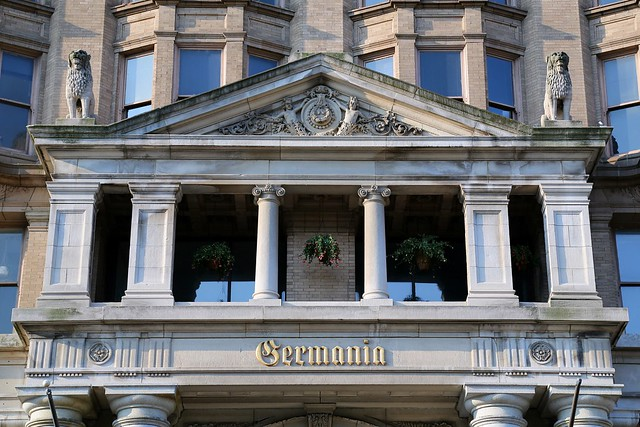 Germania building detail