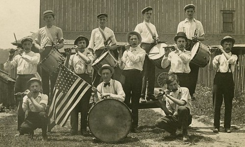 Fife and Drum Band (Cropped)