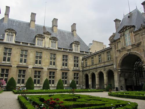 Музей Карнавале. Musée Carnavalet. Paris. France