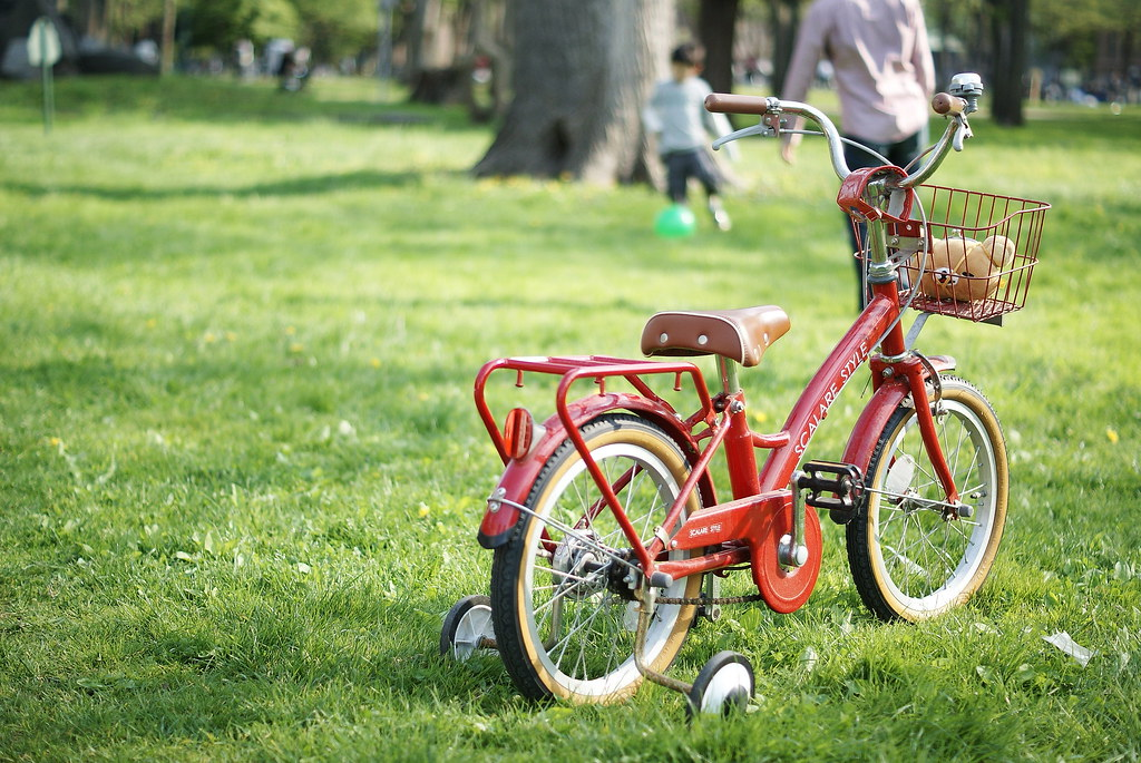A Small Red Bike