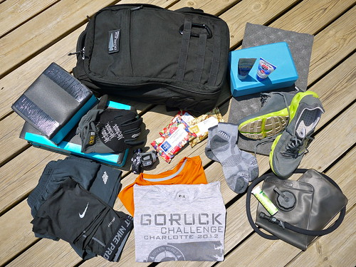 My GORUCK Challenge Gear List