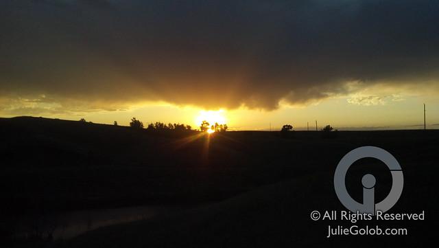 Sunset - Montana