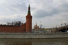 Beklemishevskaya Tower et la Cathédrale Saint Basile