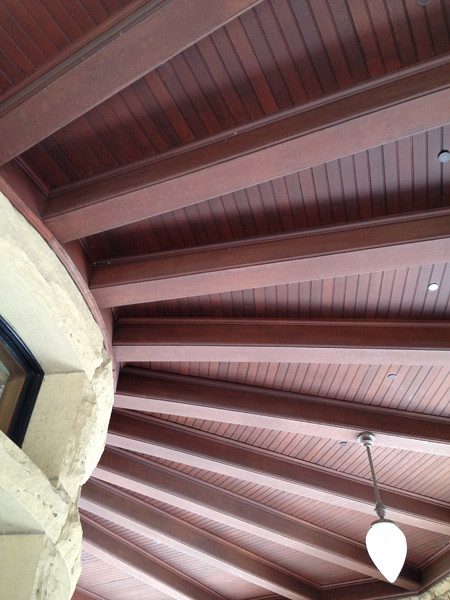 Ceiling at Geology Corner in the Main Quad