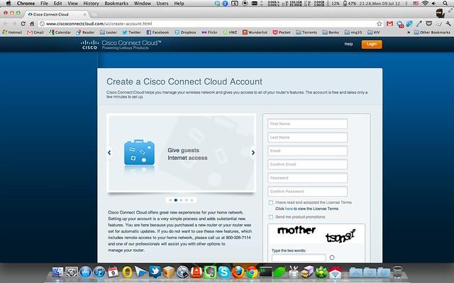 Cisco Connect Cloud - Register