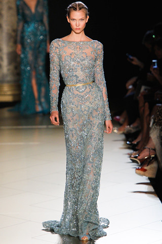 Elie-Saab-Couture-Fall-2012 23 Karlie Kloss (NEXT)