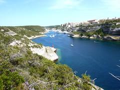 Calanque et port de Bonifacio