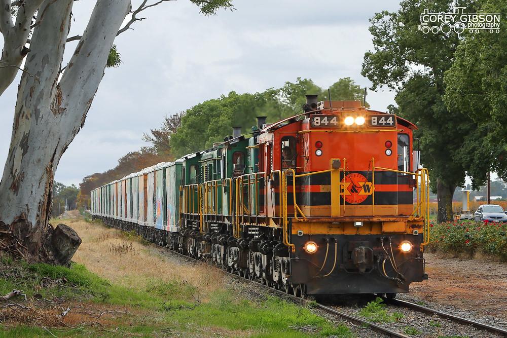 Penrice Stone Train by Corey Gibson