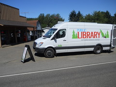 The Benton County bookmobile is open for business in Kings Valley