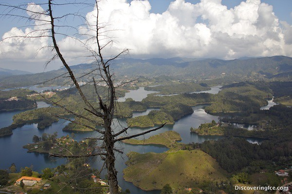 More views from the top at El Peñol, Guatapé, Colombia
