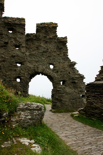 Portal at Tintagel