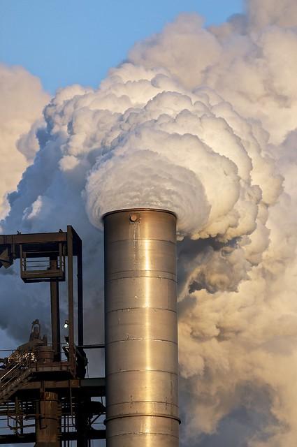 Number 7 Blast Furnace : Number seven blast furnace smokestack flickr photo