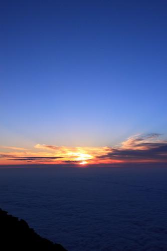 sunrise 富士山 mtfuji 雲海 日の出 ご来光