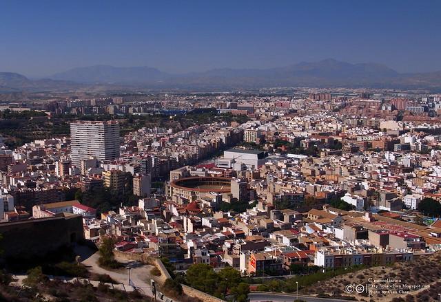 Hola Alicante~ 阿利坎特。地中海的熱度 Castillo de Santa Barbara 聖巴巴拉城   R1043662