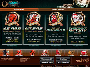 Grand Parker Casino Lobby