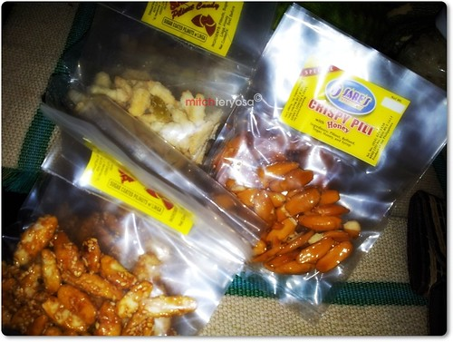 Packed pili nuts