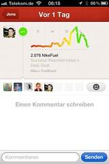 Nike+ FuelBand: App (iOS)