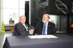 Atlantic Cape-Stockton Dual Degree Program Articulation Agreement Signing July 26