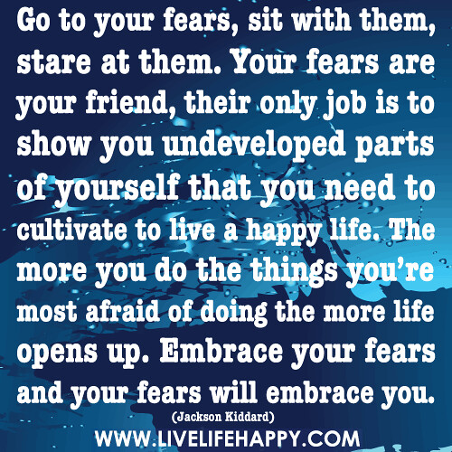 Go To Your Fears