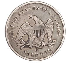Engraved 1840-O Half Dollar reverse