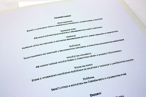 Pavillon menu