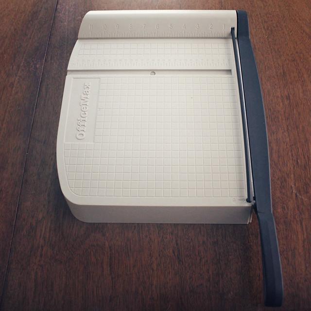 papercutter