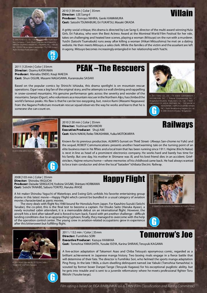 2012 EIGA SAI Synopsis Part 1