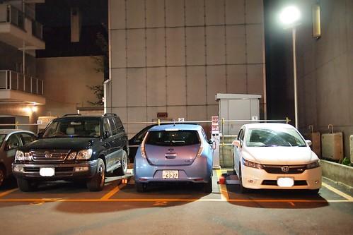 普通充電設備付きパーキング「ecoinパーキング大通西16第2駐車場」
