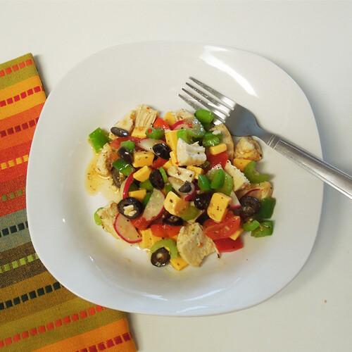 veg salad chicken 2