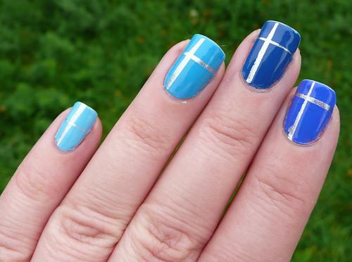blue ombre +silver 1