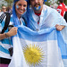 Olympics London 2012 Argentina Fans