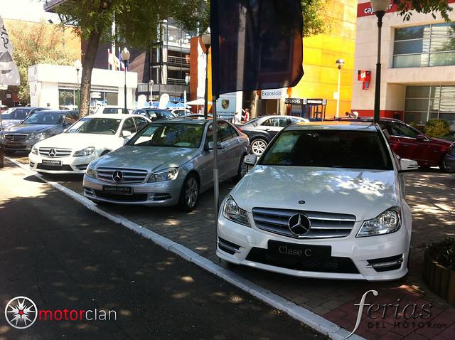 Estand de Mercedes Benz en FIDMA