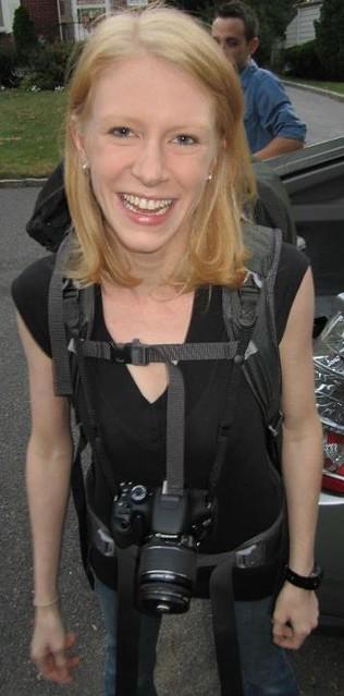 Katrina's Custom Camera Strap