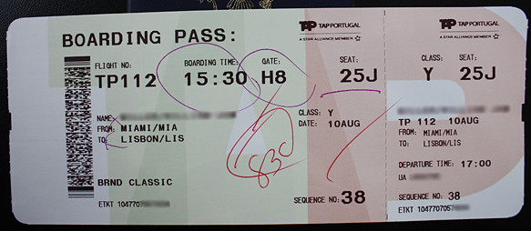 tap boarding pass