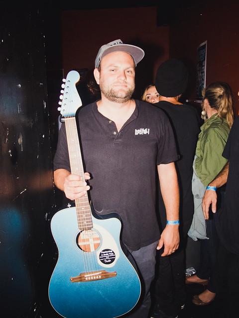 Tyrone & Fender's Raffle Guitar