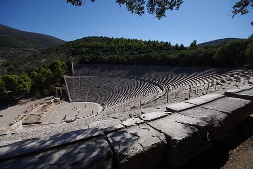 greece touring epidavros europe2012