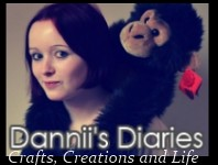 Dannii's Diaries Button