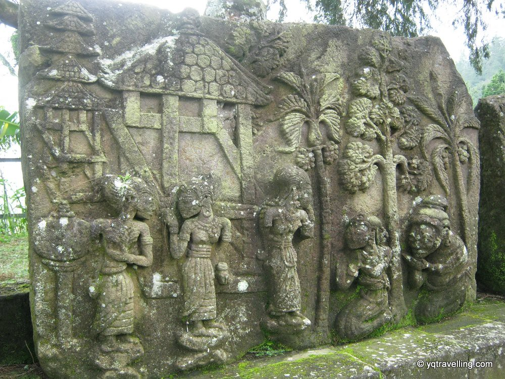 Wall carvings of Candi Sukuh