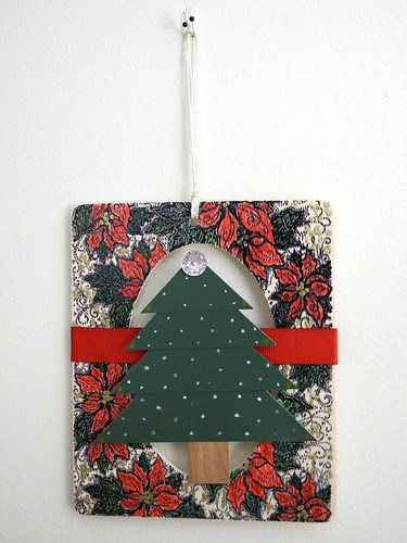 Christmas Tree Hanging Frame